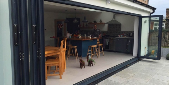 kitchen extension west wickham