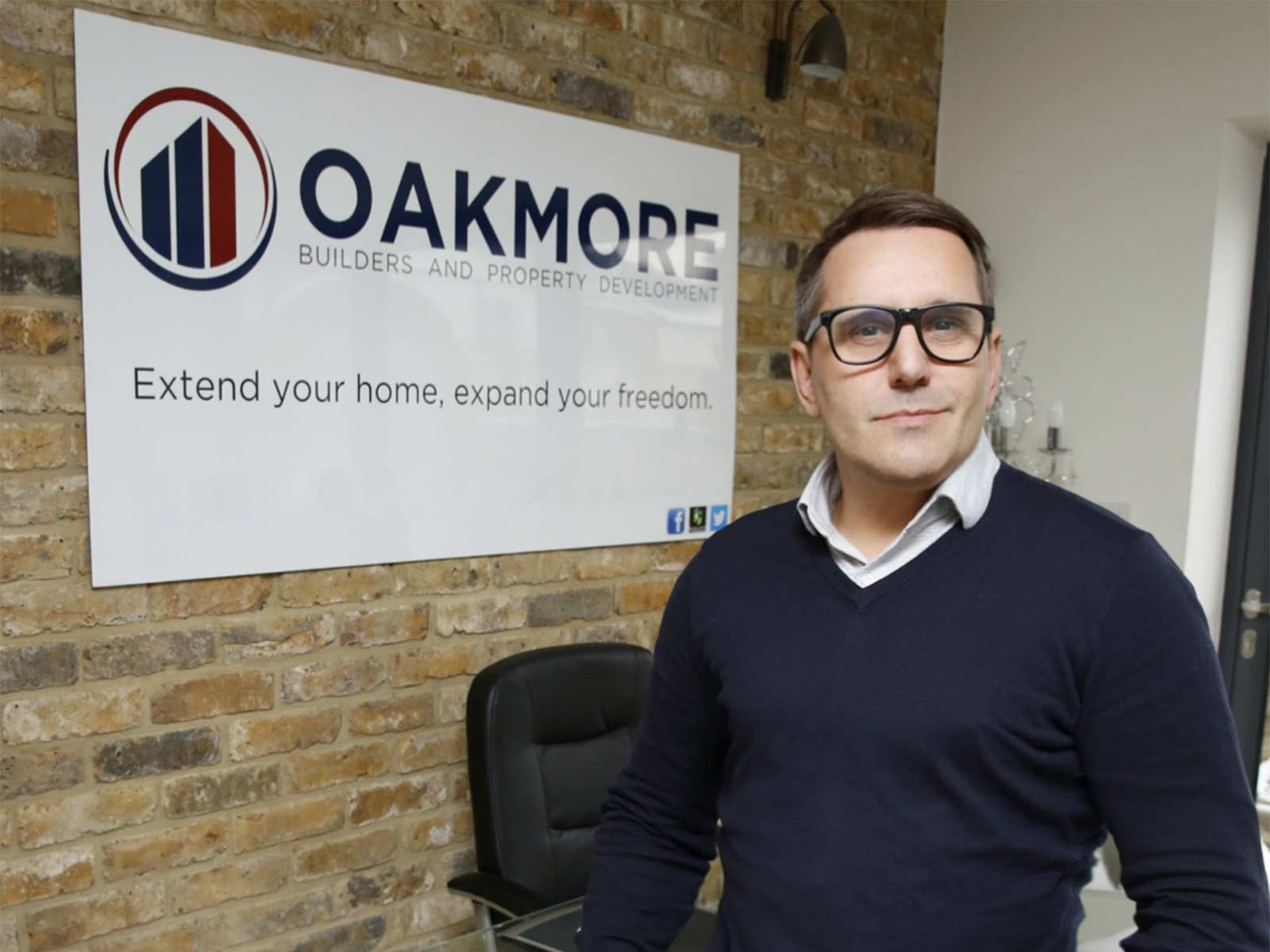Oakmore Builders: lef school to £1m business for Chislehurst man